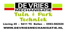 De Vries Tuin & Park techniek